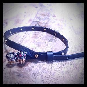 Alexander mqqueen  leather wrap bracelet  or choke